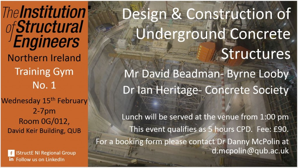 IStructE NI CPD 15TH FEB